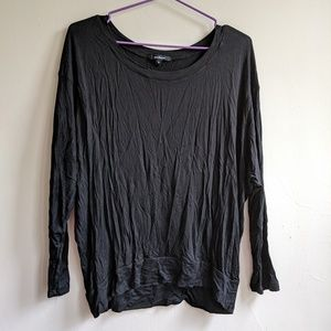 Tops - New black loose fitting long sleeve top